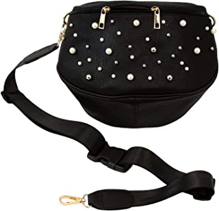 fanny pack with pearls
