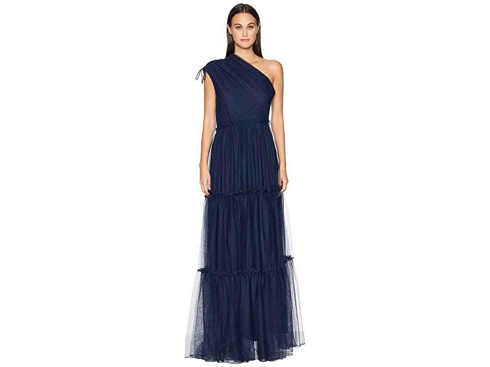 ZAC Zac Posen Christy Gown (Navy) Women