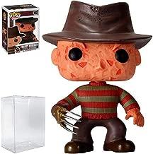 Funko Pop! Movies: A Nightmare on Elm Street - Freddy Krueger Vinyl Figure (Includes Compatible Pop Box Protector Case)