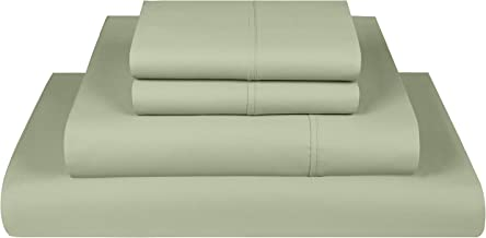 Threadmill Home Linen 800 Thread Count Bedding Collection 100% ELS Cotton Solid Sateen Sheet Set, Luxury Bedding, 3 Piece ...