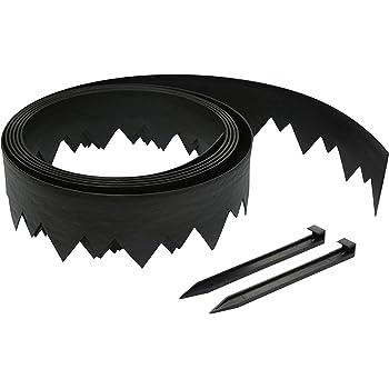 EasyFlex 3500-20C-3 Pound-in Landscape Edging, 20 FEET, Black