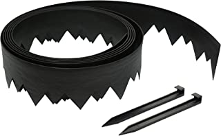 Dimex LandShark Pound-in Plastic Landscape Edging Project Kit, 20-Feet (3500-20C-3)