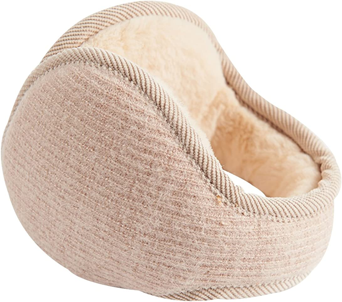 Trendy XU Men/Women's Winter Faux Furry Ear Warmers Fleece Outdoor Ear Muffs