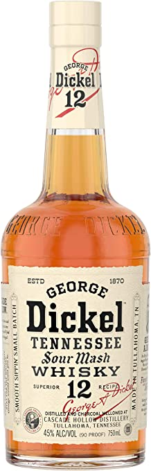 George Dickel Superior No. 12 Sour Mash Tennessee Whisky 750ml