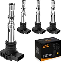 4Pcs Ignition Coil Pack Replacement for Volkswagen Jetta Beetle Golf Passat Derby Audi A3 A4 A6 UF411 C1394