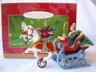 Hallmark Keepsake Ornament Victorian Sleigh 2001