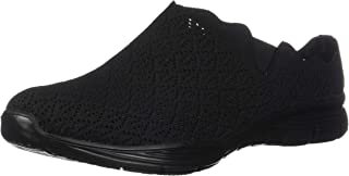 Women's Seager-Westlake-Scalloped Engineered Knit Open Back Mule