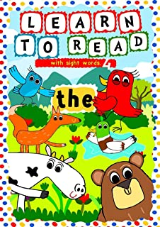 Learn to Read with Sight Words: (THE) – A learning to read activity book for beginners and kindergartners aged 3 to 5: A t...