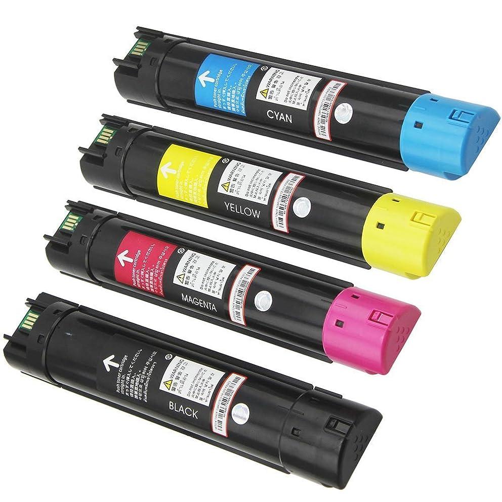 4PK Caire(TM) Premium Compatible Xerox Phaser 6700 6700N 6700DN 6700DT 6700DX Toner Cartridge 106R01510 106R01507 106R01508 106R01509 (KCMY)