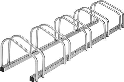 TecTake Râtelier range-vélo pour vélos   en acier revêtu - diverses modèles -
