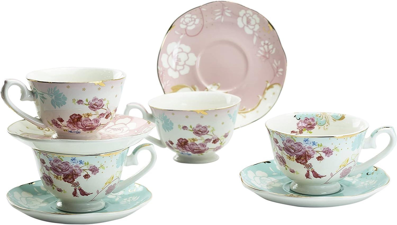 Gracie China by Coastline Imports Award D'oiseaux Tea Jardin Brand new Porcelain