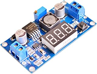 Demino Replacement LM2596S DC-DC 24V//12V to 5V 5A Step Down Power Supply Buck Converter Phone Adjustable USB Step-Down Charging Board Blue 63 x 27 x 10 mm Negro Adaptador de Cable