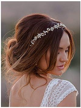 SWEETV Haarschmuck Hochzeit