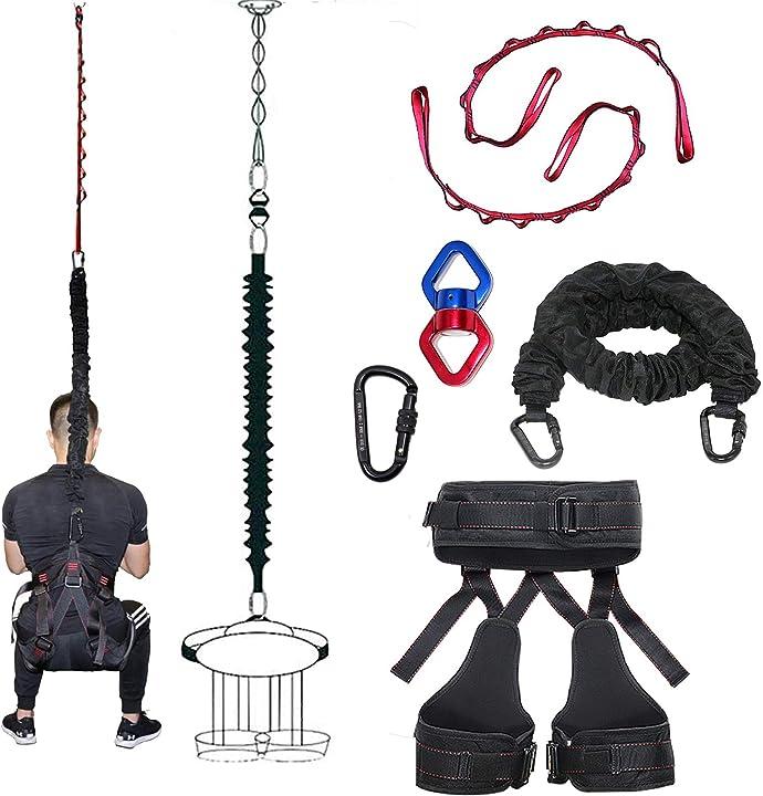 Bungee training professional dasking  bande di resistenza per home gym - allenamento palestra B07XBZR6XC