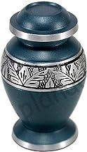 eSplanade Cremation urn Memorial Container Jar Pot | Metal Urns | Burial Urns | Memorial Keepsake.