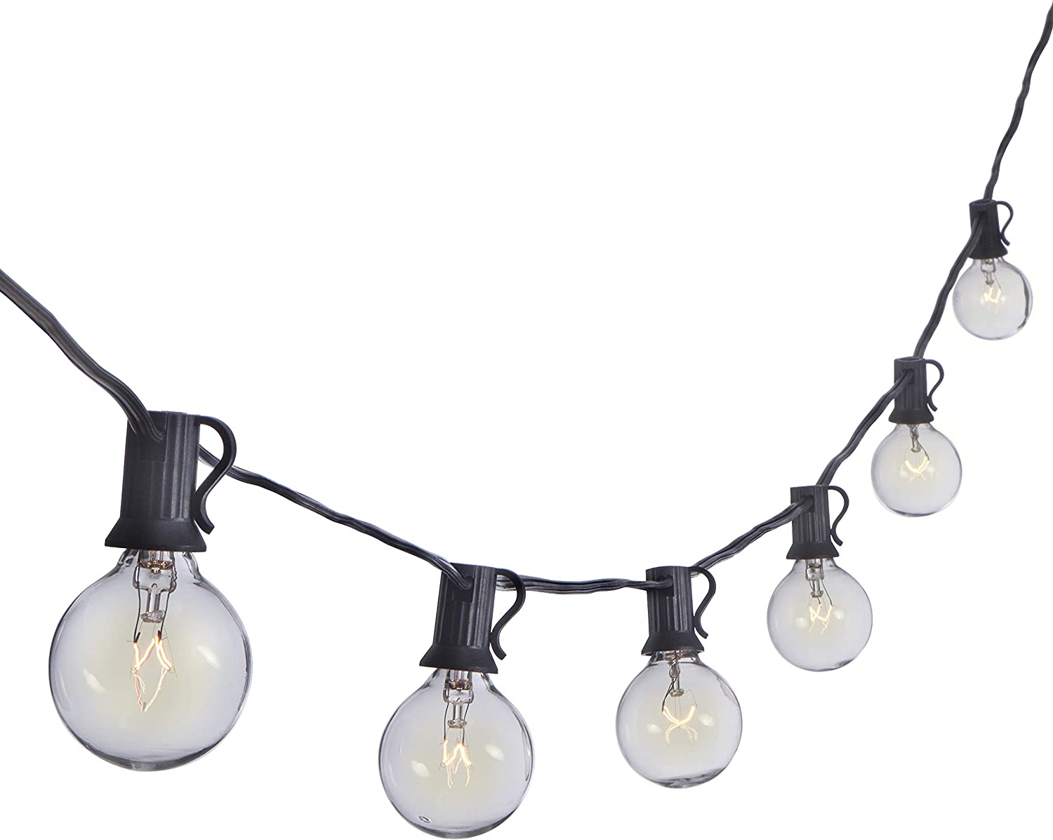 Sterno Home: Clear Globe Dimmable Outdoor Incandescent String Light | 100 Feet! .99 (REG .99) at Woot!