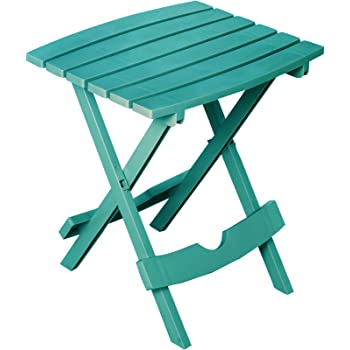 Adams Manufacturing 8510-94-3902 Quik Fold Side Table, Teal
