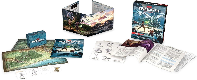 Dungeons & Dragons Essentials Kit (version anglaise) : Amazon.fr: Jeux et  Jouets