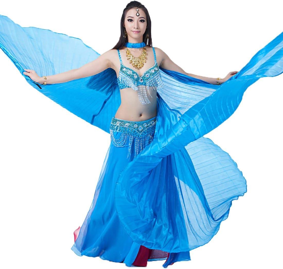 Long-awaited Calcifer Silk Egyptian Egypt Belly Wings Costum San Francisco Mall Dance Isis