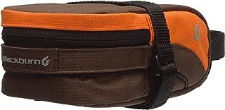 Blackburn Bolsa para Asiento Local Medium Poliéster 210D Resistente Al Agua, Color Naranja/Café, 1 l