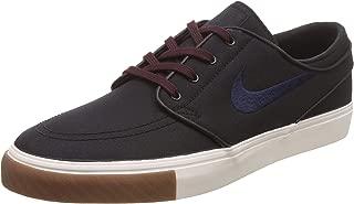 Zoom Stefan Janoski CNVS Mens Fashion-Sneakers 615957-024_11 - Black/Obsidian-Burgundy Crush