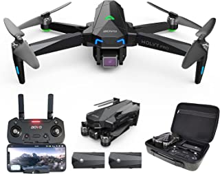 aovo PRO66 Drone with Camera for Adults 4K UHD, 60 Minutes Flight Time Quadcopter with Brushless Motor, GPS Return Home, F...