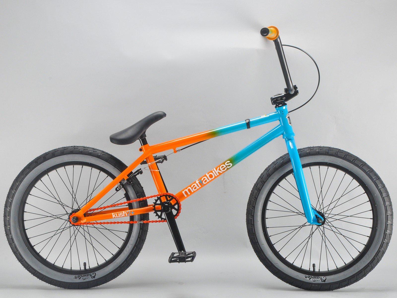 Mafiabikes Kush 2+ Bmx - Bicicleta, Color Azul y Naranja, 50,8 Cm ...