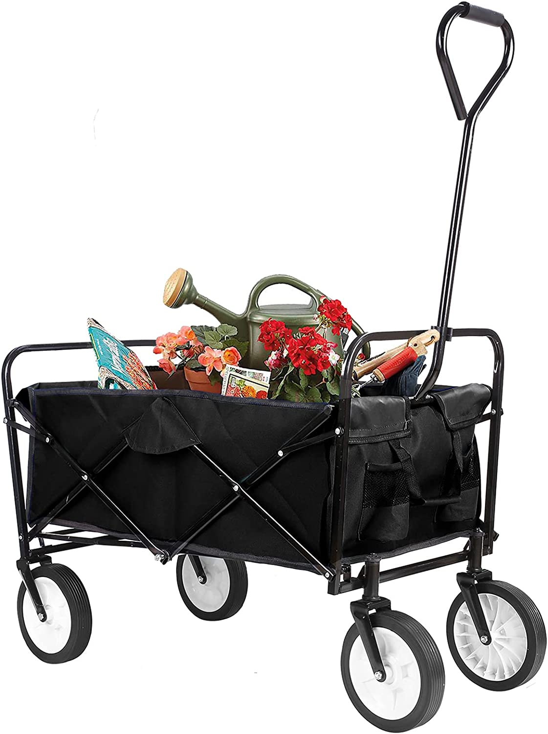 Under blast sales Pirecart Collapsible Folding Wagon Quantity limited Utility Portable Heavy-Duty