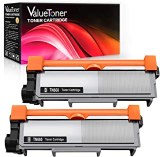 Valuetoner Compatible Toner Cartridge Replacement for Brother TN660 TN-660 TN630 TN-630 High Yield (2 Black)