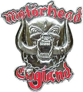 Motorhead England Novelty Belt Buckle