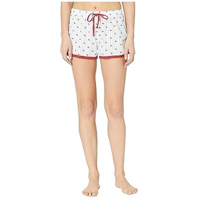 P.J. Salvage Playful Shorts (Ivory) Women