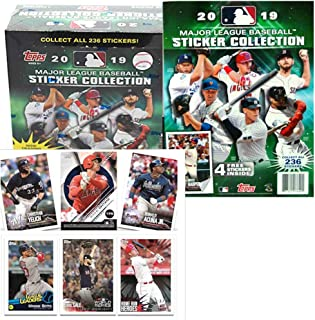 2019 Topps MLB Baseball Sticker Master Kit (1 50 pk box & 1 album)