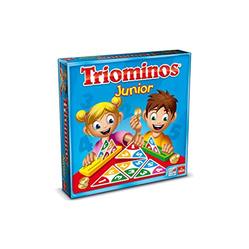 Goliath - Triominos Junior  - Jeu de famille - 60627.006
