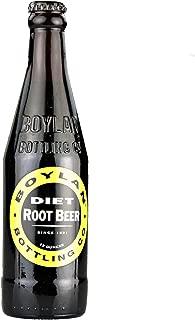 Boylan Diet Root Beer Soda 12 oz. (24 Bottles)