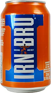 Barr's Irn Bru Soft Drink, 11.1-Ounce (Pack of 24)
