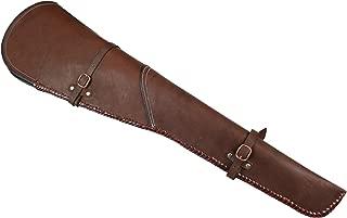 Historical Emporium Men's Western Plain Leather Rifle Scabbard