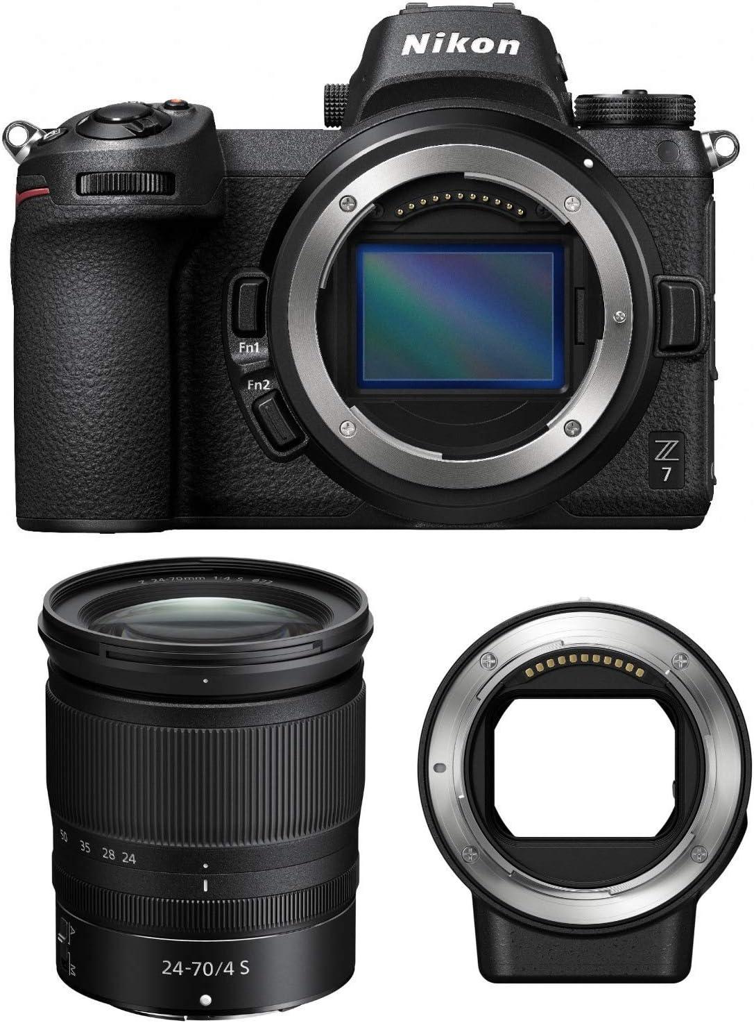 Nikon Z7 Dedication Mirrorless Digital Sales results No. 1 Camera F 24-70mm Lens with and