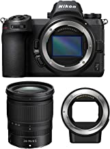 Nikon Z7 Mirrorless Digital Camera with 24-70mm Lens and Nikon FTZ Mount Adapter Bundle