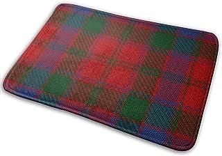 Doormat Scottish Clan Donnachaidh Robertson Entrance Rug Indoor/Outdoor Door Shoe Scraper Entryway,Garage and Laundry Room...