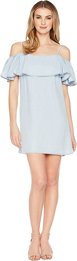 Layered Short Sleeve Dress