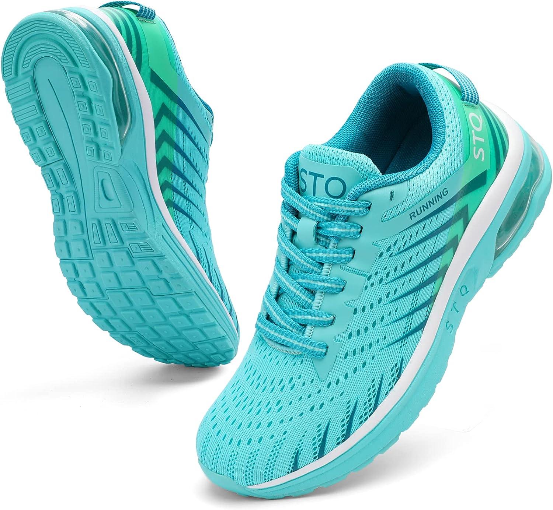 STQ Air Reservation Cushion Running Shoes Selling Tennis Women Lightweight Sneaker