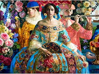 "Olga Suvorova: Melody 1000-Piece Jigsaw Puzzle (Pomegranate) 27"" x 20"""