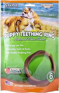 N-Bone Puppy Teething Ring Pumpkin Flavor