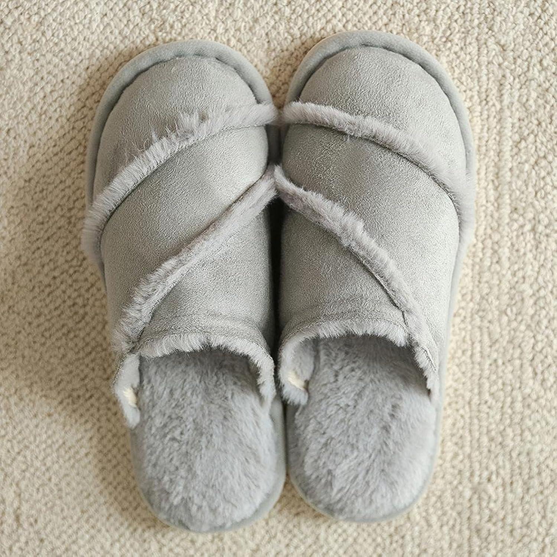 Sheepskin Fur Slippers Fashion Winter Women Indoor Slippers Warm Comfort Flat Indoor Floor shoes, b, 38