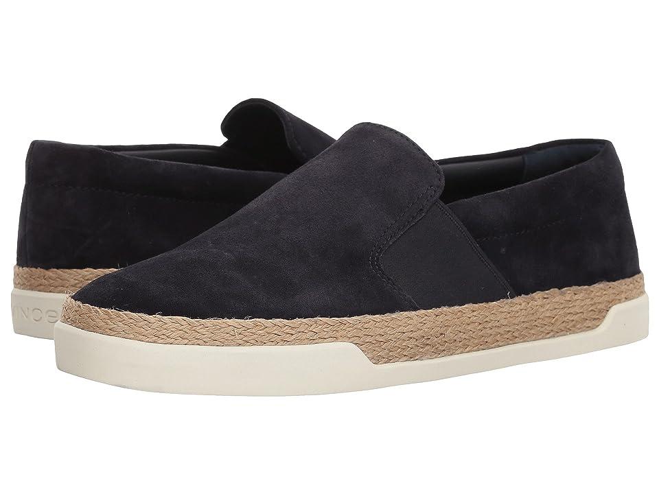 Vince Johan (Coastal Sport Suede) Women's Shoes, Black