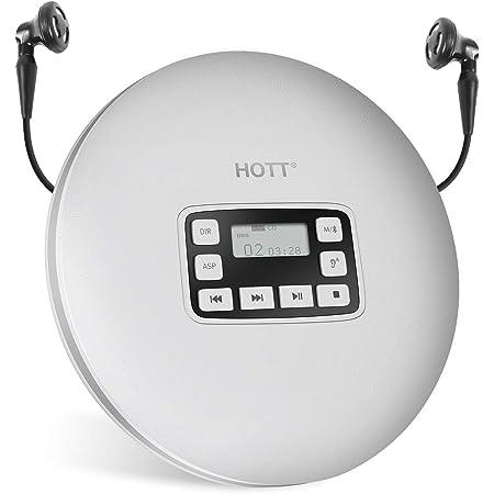 Hott Cd611t Bluetooth Cd Player Für Reise Zuhause Und Elektronik