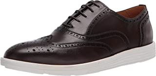 Driver Club USA Men's Leather Made in Brazil Eva Lightweight Oxford Wingtip