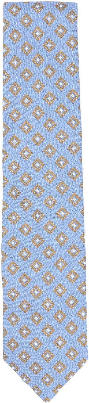 Bigi Cravatte-Milano Men's Diamond Pattern Necktie