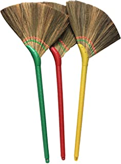 First World Brand 掃把Choi Bong Co Vietnam Hand Made Straw Soft Broom with Plastic Handle 12