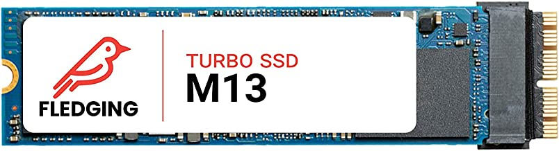 Feather M13 Turbo SSD (256GB) with Toolkit - NVMe Drive Upgrade for Apple MacBook Pro 2013-2015, MacBook Air 2013-2017, iMac 2013-2017